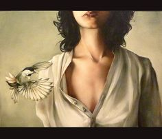 The Seamstress by Amy Judd Art, via Flickr