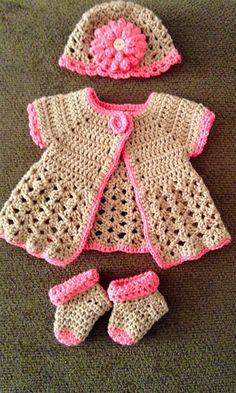 Ravelry: Czechnana's Newborn sweater set