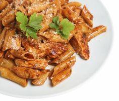 Tuscan Chicken with Gluten Free Pasta