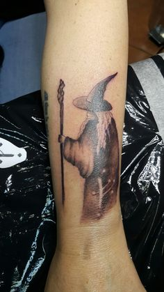 Gandalf tattoo, LOTR - Bizzzart Cluj-Napoca