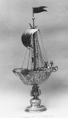 Ship (Nef) Heinrich Winterstein (master 1585, died 1634) Date: probably ca. 1620 Culture: German (Augsburg)
