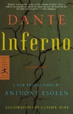 Inferno (The Divine Comedy)  by Dante Alighieri, Anthony Esolen (Translator )