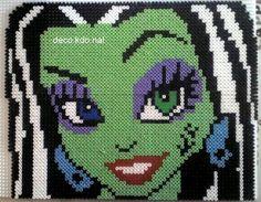 Franki Monster High hama perler - DECO.KDO.NAT