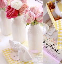 Tablescape 101: Spring Brunch (Yellow & Pink) – Bright.Bazaar #FlowerShop