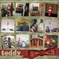 elf on the shelf page