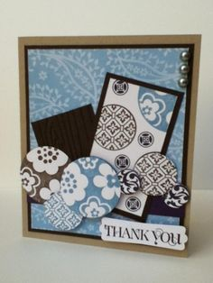 Thank you (FMS100) by Kumi - Cards and Paper Crafts at Splitcoaststampers