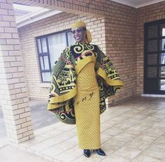 Shweshwe Fashion Designs Dresses One affair I accept appear to accept over time is that shwesh African Attire, African Wear, African Dress, Ankara Gown Styles, Ankara Gowns, African Jumpsuit, Shweshwe Dresses, African Fashion Ankara, Vintage Patterns