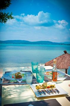 Ekies All Senses Resort in Macedonia, Greece: a family-friendly retreat with Wonderful Places, Beautiful Places, Places To Travel, Places To Visit, Halkidiki Greece, Greece Hotels, Hotel Restaurant, Greece Islands, Paros