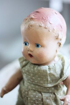 Antique Doll 2-pretty blue eyes from AliceW.typepad.com