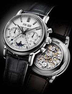 Patek Philippe 5204 Split-Seconds Chronographs With Perpetual Calendar