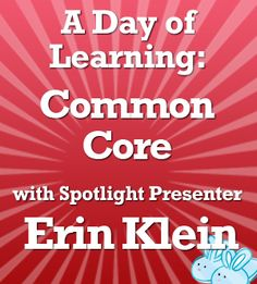 4 Free Common Core Webinars for Elementary Teachers - tons of CCSS resources shared & project ideas for writer's workshop.  See interesting ways to incorporate technology - easy and fun!