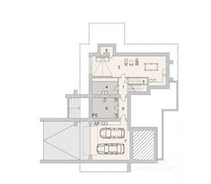 House with attic in modern style with usable area House with a large garage. Minimum size of a plot needed for building a house is m. House Plans Mansion, Cottage Style House Plans, Ceramic Roof Tiles, Balcony Doors, Interior Walls, Modern House Design, Ground Floor, Home Projects, Building A House