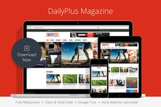DailyPlus - News WordPress Theme by @Graphicsauthor