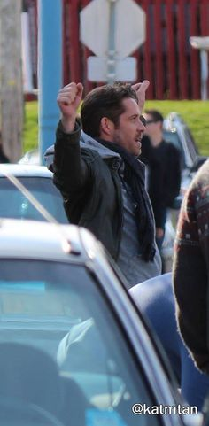 """Sean Maguire - Behind the scenes - 4 * 22 """"Operation Mongoose Part 2"""" 1st April 2015"""