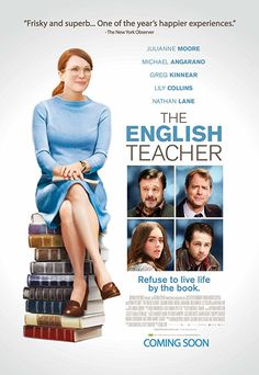 Directed by Craig Zisk. With Julianne Moore, Michael Angarano, Greg Kinnear, Lily Collins. An English teacher's life is disrupted when a former student returns to her small town after failing as a playwright in New York. Movie To Watch List, Good Movies To Watch, Movie List, Great Movies, Michael Angarano, Greg Kinnear, Julianne Moore, Lily Collins, Kingston