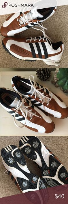 Adidas Traxion Golf Shoes sz 13 -men Excellent condition, barely used. Comes with extra cleats and wrench. 3D Fit Foam insole. Size 13. Adidas Shoes Athletic Shoes