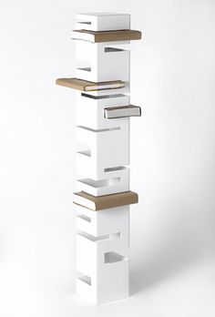 Bookcases by Rick Ivey