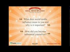 Webinar on social influence with Laura Fitton and Jim Kukral. Really enjoyed this one. Media Influence, Jay, Social Media, Youtube, Social Networks, Youtubers, Social Media Tips, Youtube Movies
