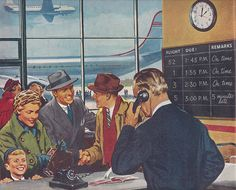 'The Air is Yours…Use It!' – Holiday Magazine Travel Adverts from April 1950 - retro pin Vintage Travel, Vintage Ads, Vintage Posters, Vintage Images, Vintage Items, London Pictures, Retro Pictures, Air Travel, Travel Plane