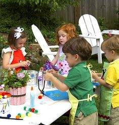 Bugs and Butterflies party