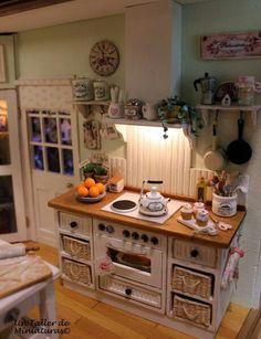 Magnifique miniature de cuisine !