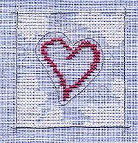 A Surface Embroidery project for beginners by Kreinik.