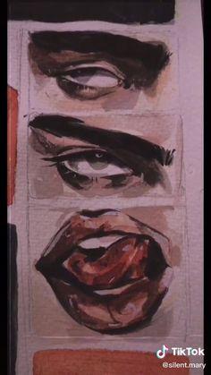 Posca Art, Scary Art, Art Drawings Sketches Simple, Art Sketchbook, Cartoon Art, Art Tutorials, Cute Art, Painting & Drawing, Watercolor Paintings