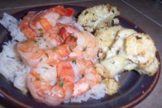 Weight Watchers Sauteed Shrimp from Food.com: A delicious lemon-herb shrimp recipe from a recent WW meeting. 3 points per serving. This is great served over a bed of brown rice and with a side of WW Roasted Vegetables. YUM!