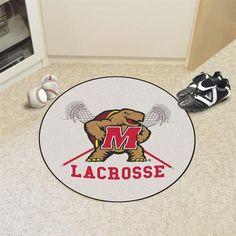 Round University of Maryland Terps Floor Rug