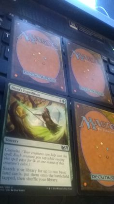 Nissa's Expedition M15 Magic The Gathering plus 3 bonus card(s)