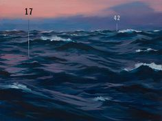 Oliver Jeffers | Measuring Land and Sea | Lazarides Rathbone