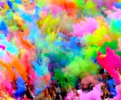 HoliColours✨ #holifestival #holi #indiaholi #celebrationofcolour #colourfestival #wanderlust #travel #india #colours #love #holilove
