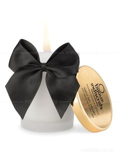 This scented candle