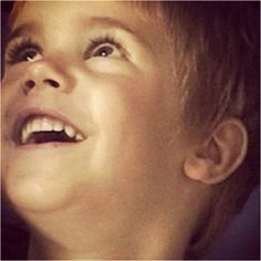 Possibly the cutest little kid I've ever seen in a picture!! Perfection! (: