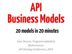 11 Best API Business Models images in 2016   Business