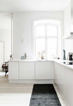 Hvidt køkken fra Invita