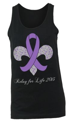 KKG relay for life tanks! I love this!! Would love to have one