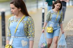 These Outfits - Emilia Clarke 'Me Before You'