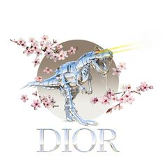 Hajime Soroyama and Dior collab. More high-end fash brands should partner up with sexy robot painters. Life Is Strange Wallpaper, Kimba The White Lion, Robot Dinosaur, Unicorn Logo, Dinosaur Wallpaper, Retro Waves, Cyberpunk Art, Fashion Art, Dior Fashion