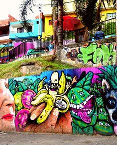 Que Chimba! – QUO VADO ?! Travel, Fictional Characters, Venezuela, Colombia, Murals, Viajes, Destinations, Traveling, Trips