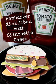 Hamburger Family Mini Album – Mini Book Blog Hop http://joyslife.com/hamburger-family-mini-album-mini-book-blog-hop