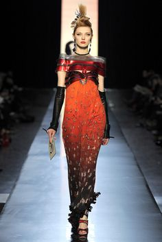 Jean Paul Gaultier Spring 2011 Couture Fashion Show - Olga Sherer (NATHALIE)
