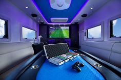 Mobile man cave for the guys on the road