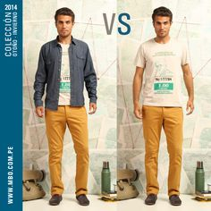 Un look como para el clima de Piura. ¿Lo usarías con o sin camisa? #mbo #polos #camisas #vs #elige #ropa #style #casual #inspiration