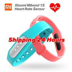 Xiaomi Mi Band 1S Heart Rate Monitor Smart Wristband Xiaomi Miband Bracelet 1 S IP67 Bluetooth  #Ebook #Electronics #Phones #Bracelets #Gardening #Health #Necklaces #Audiobooks #Comics #freedelivery
