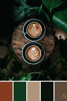 Excellent simple ideas for your inspiration Colour Pallette, Colour Schemes, Color Combos, Color Patterns, Black Color Palette, Earthy Color Palette, Color Harmony, Color Balance, Room Colors