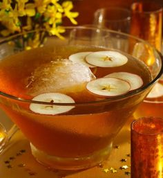 Sparkling ginger apple cider
