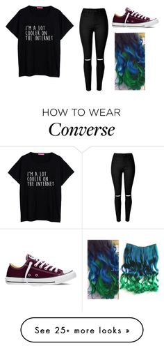 """Until the World Goes Cold // Trivium"" by youre-555-im-666 on Polyvore featuring Converse"