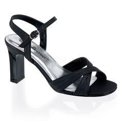 Pleaser Women's 'Romance-313' Square Heel Sandals