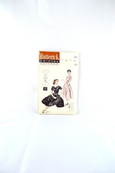 1950s Vintage Butterick Pattern 6911 Misses by TabbysVintageShop, $25.00